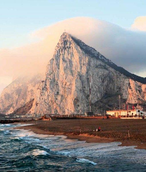 Gibraltar at Sunrise