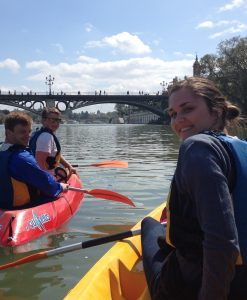 Kayak tour Seville