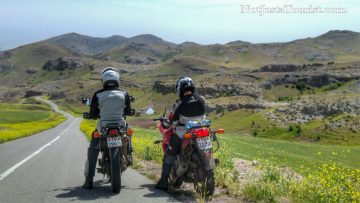 Riding overland in Iran