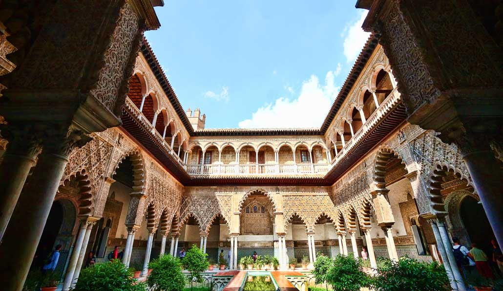 Magical and Breathtaking Gardens of the Alcazar