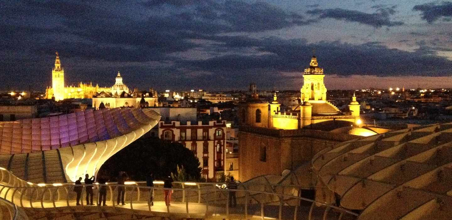 Beautiful Seville by Night