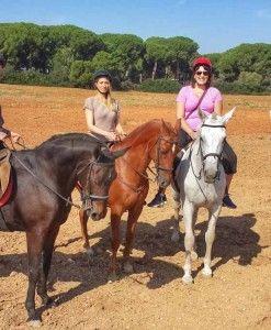 Horseback riding day trip for kids
