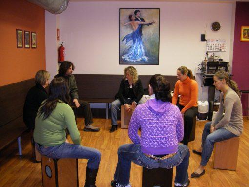 Flamenco Box Percussion Workshop Seville