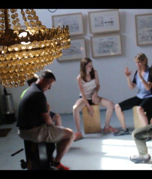 Private Flamenco Box Percussion Workshop Seville