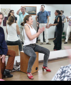 Flamenco Box Percussion Workshop Seville