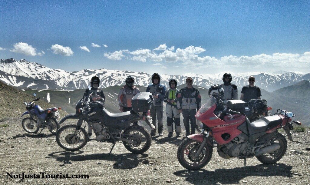 Off road motorcycle trip in Iran