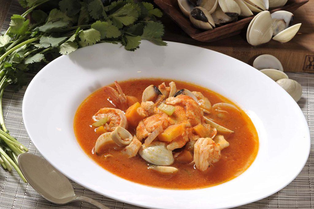 Sopa De Almeria - Traditional Seafood Soup - Spain