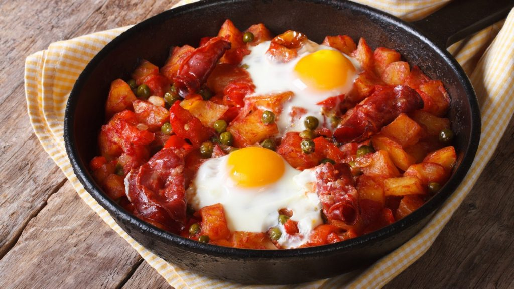Huevos FLamenco - Eggs - Seville