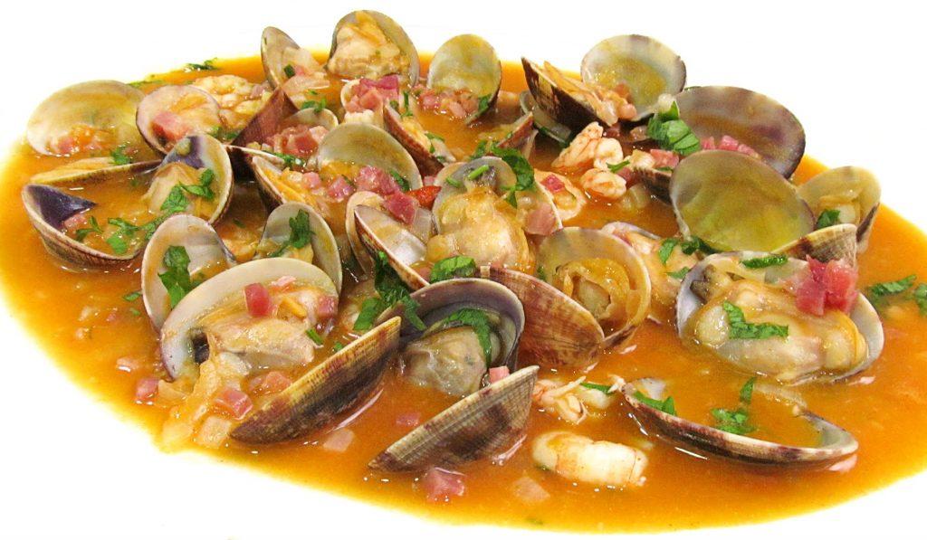 Almejas A la Marinera - Clams - Shrimps =