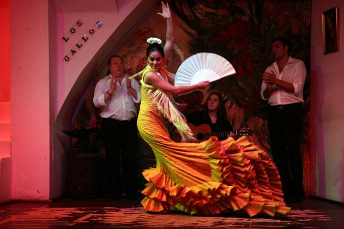 Authentic Spanish traditional Flamenco Dance