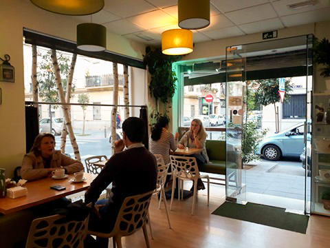 One of the trendiest cafes of Seville