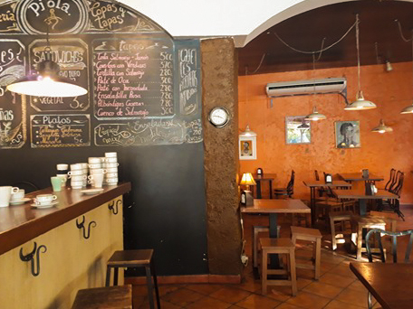 One of the top cafes in Sevilla for working