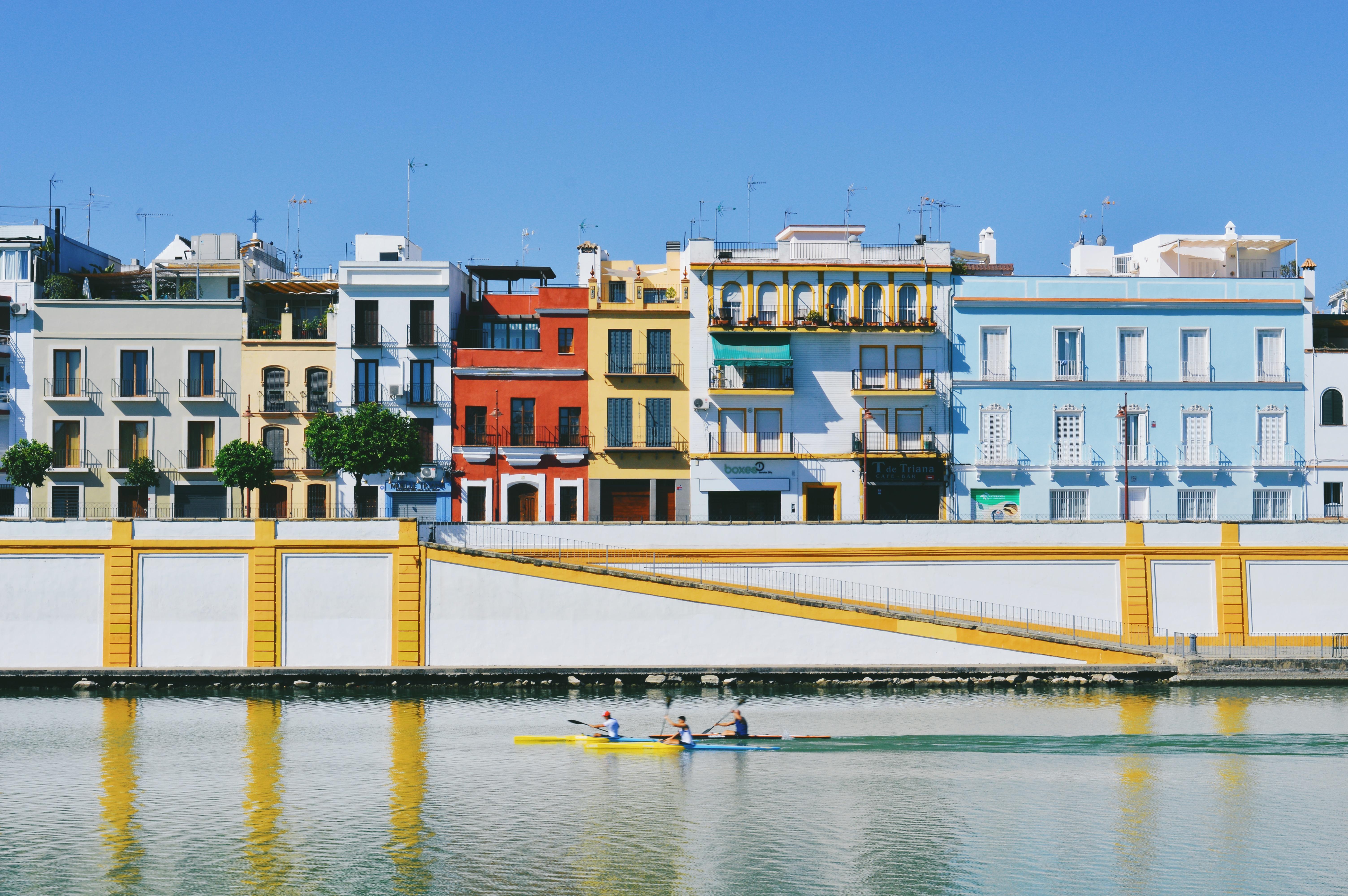 Triana Neighbourhood above the Guadalquivir