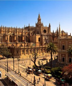 The majestic Cathedral of Seville