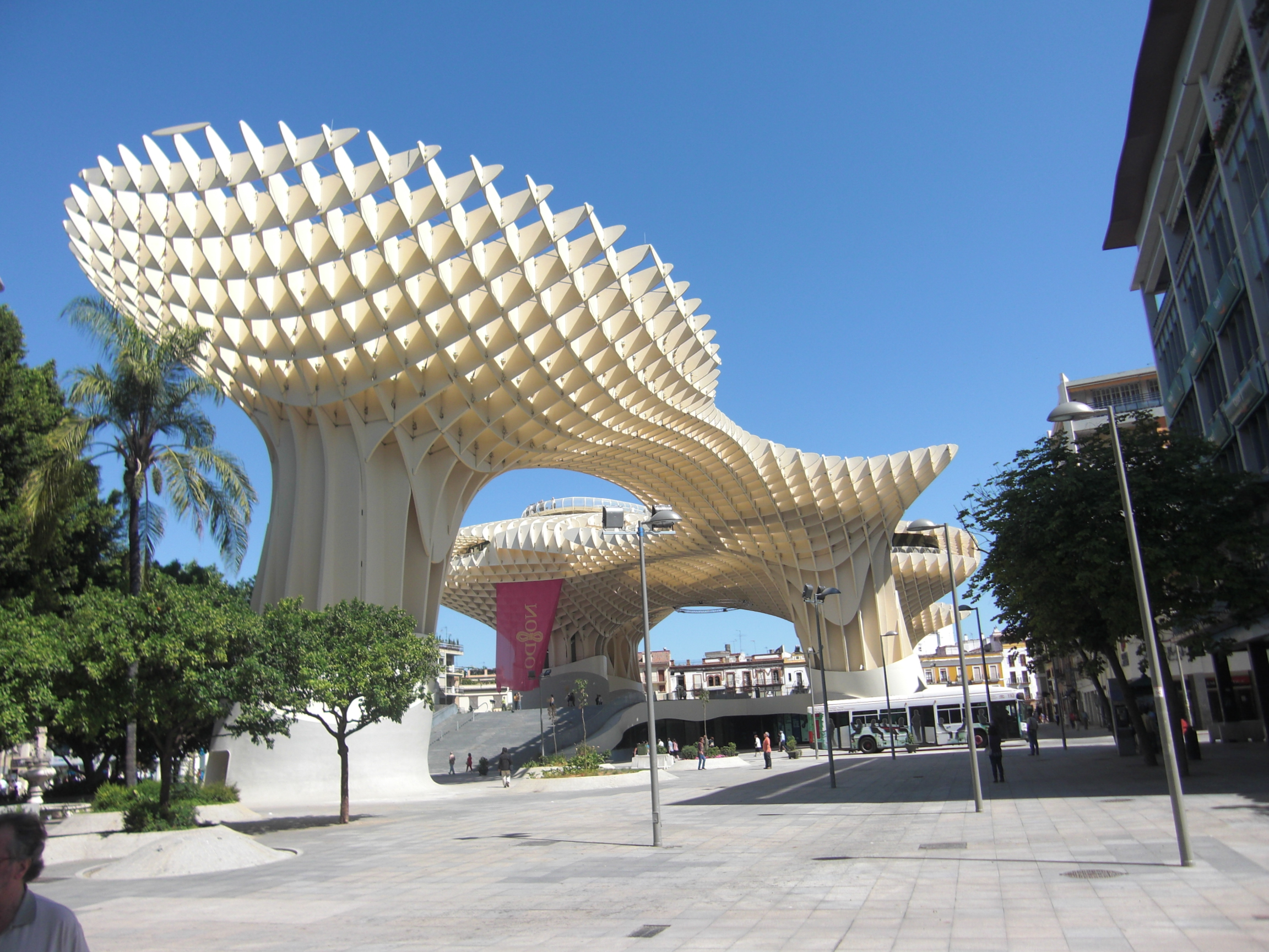 One of the top sights in Seville, Metropol Parasol