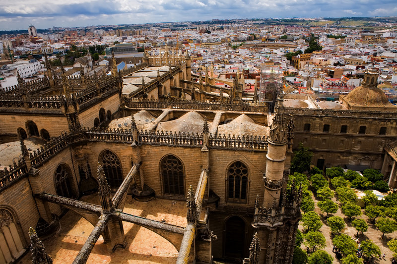 View of Seville from La Giralda