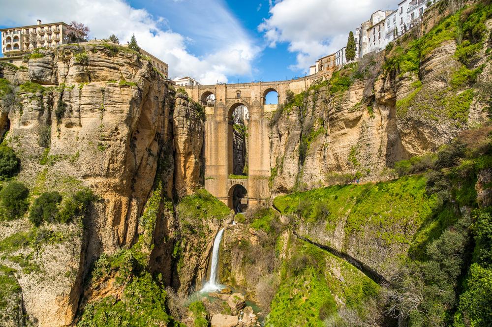 View of the Puente Nueva in Ronda