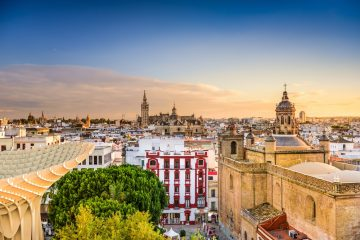 This view of Seville could be yours with our private transfer