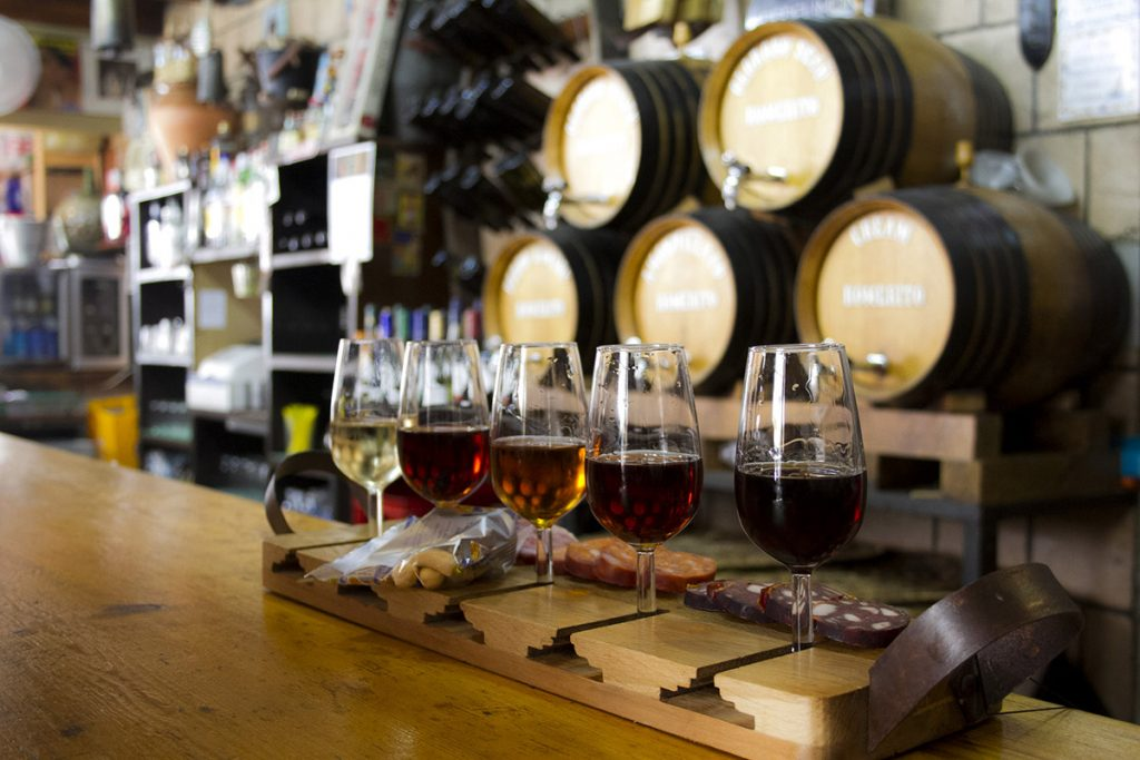 sherry tasting luxury bachelor party in Spain