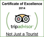 Not Just a Tourist - TripAdvisor Award 2014