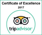 Not Just a Tourist - TripAdvisor Award 2017