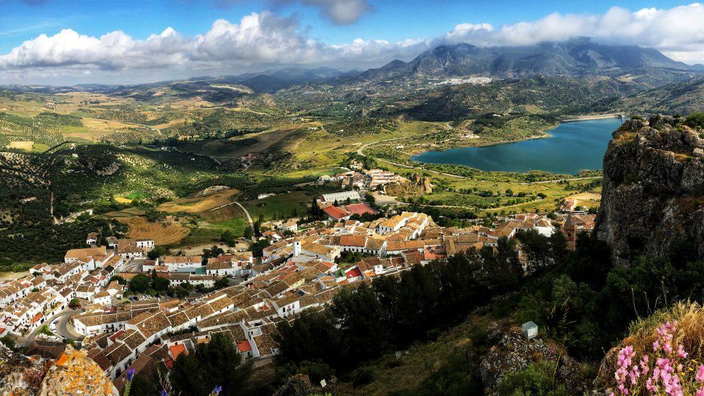 Private guide on trip to Zahara de la Sierra