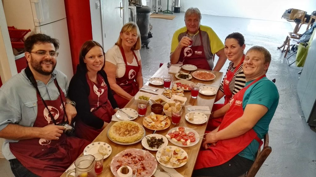 Learn to cook in Spain