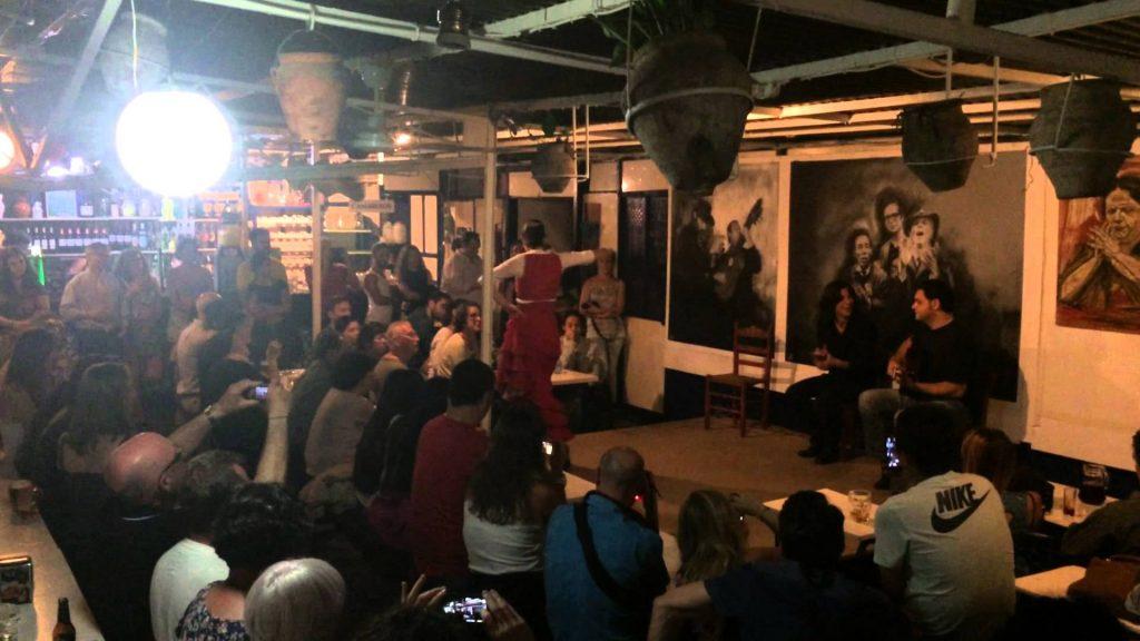 enjoy flamenco on weekend in Spain