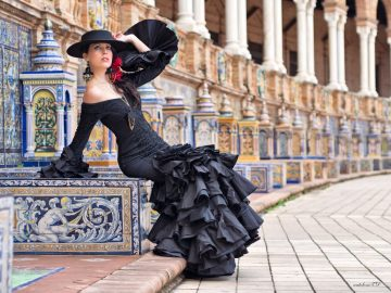 guided tour of seville to find perfect flamenco dress