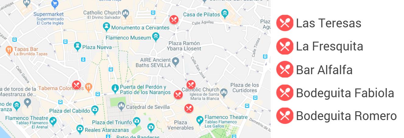 top tapas bars in seville