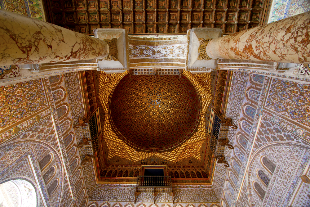 most romantic places in Seville/Andalusia/Spain, alcazar seville, honeymoon spain