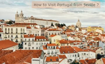 How to visit portugal from seville
