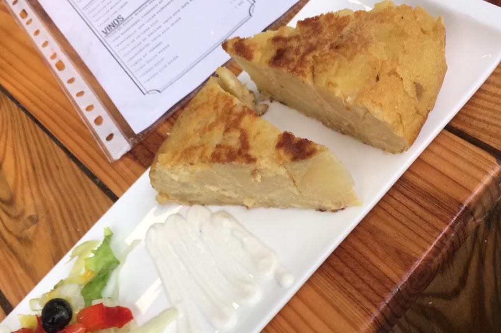 vegan spanish omlette seville