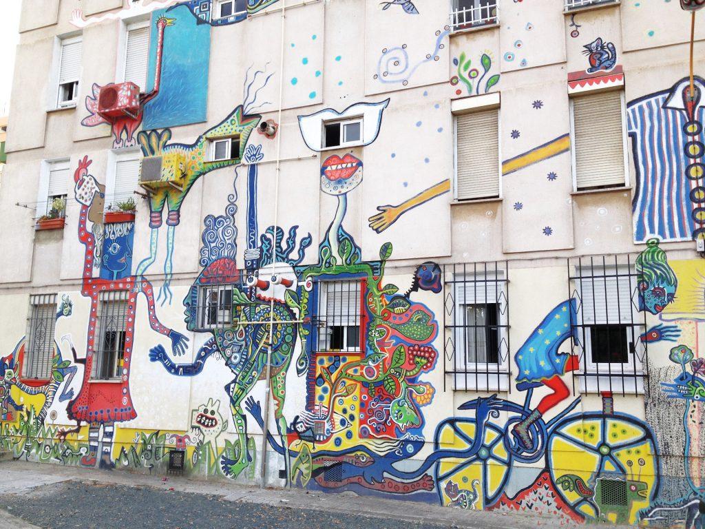 mural street art graffiti seville