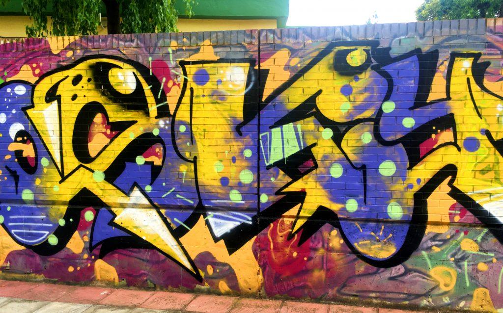 graffiti seville