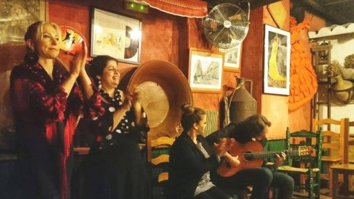Live music authentic tablao in Seville