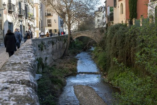Relax by the river on a hike out of Granada