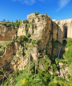 Best views of the New Bridge Ronda on a daytrip