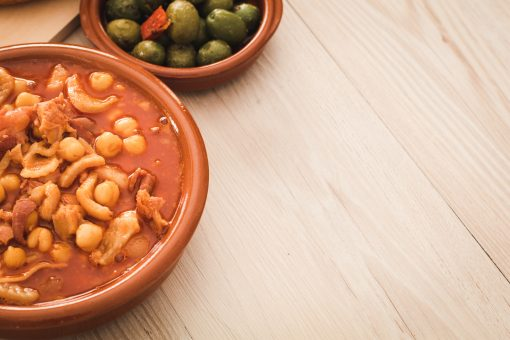 Try a traditional spanish stew on a day trip