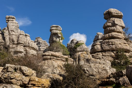 How to visit the natural park Torcal de Antequerra