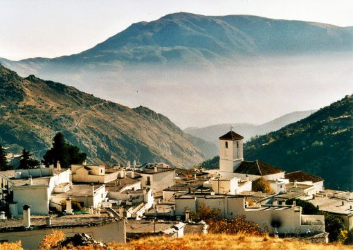 Amazing views of the sierra from Alpujarra