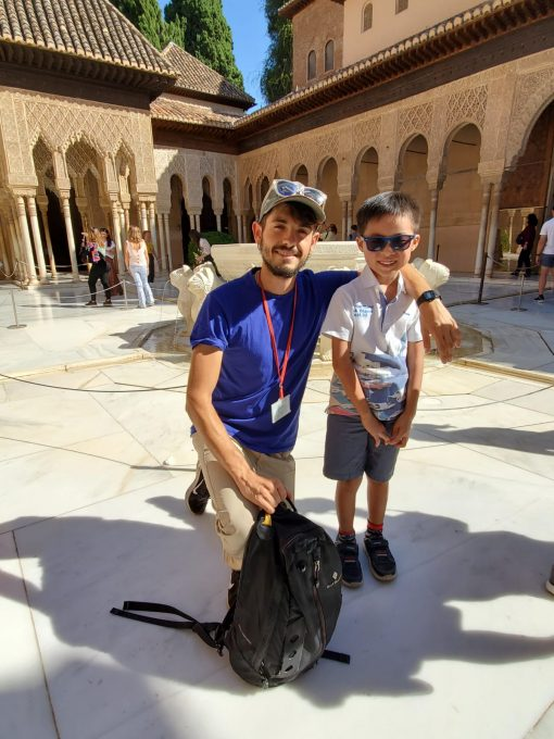 Child friendly private tour of the Alhambra granada