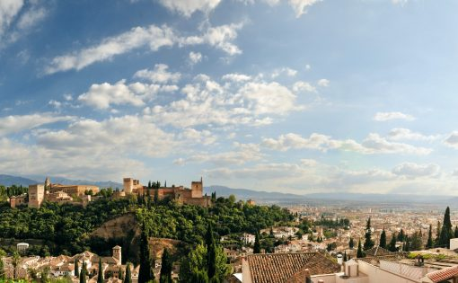 Best views of the Alhambra in Granada