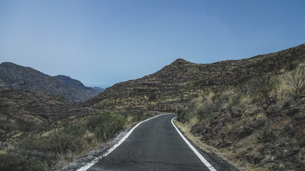 Southern Spain road and nature