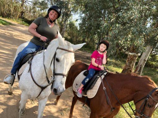 Kid friendly activity- Horse riding in Granada
