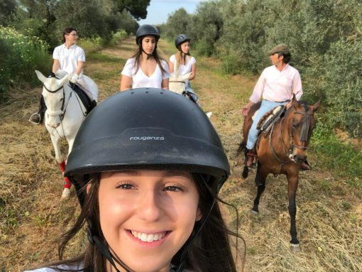 What to do in Granada with kids- Horse riding in Granada