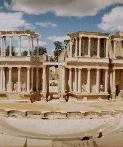Roman theater in Merida Spain