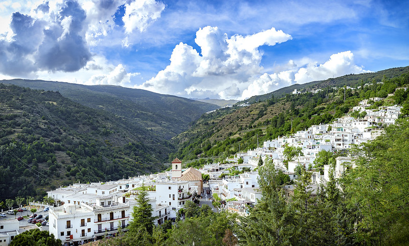 Best scenic drive through the white villages