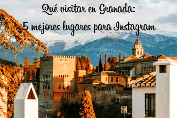 Ruta por los mejores miradores de Granada
