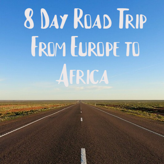 Road trip from Portugal to Morocco